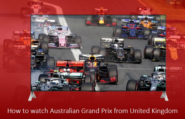 watch Australian Grand Prix from the United Kingdom